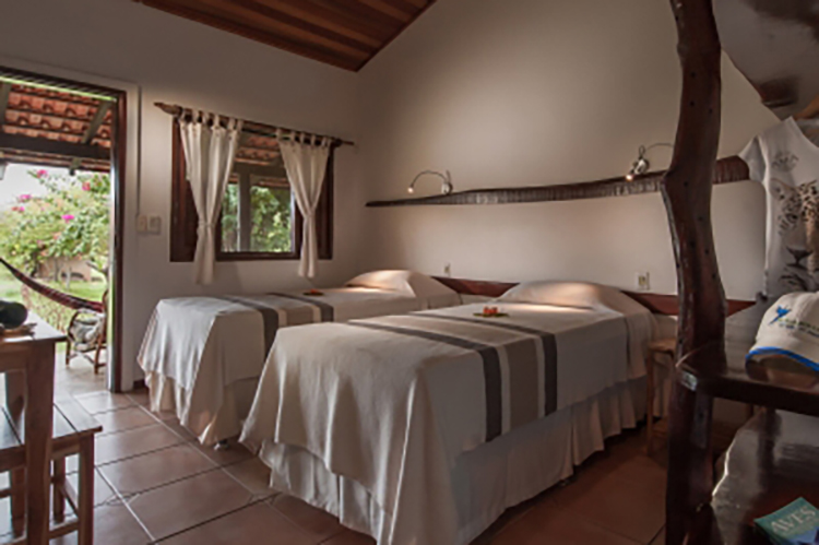 Araras Eco Lodge's Standard Room - Twin.