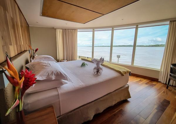 Delfin III's Corner Suite.
