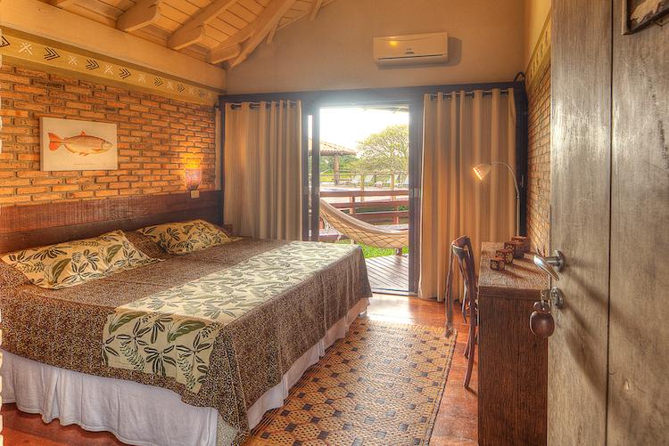 Caiman Ecolodge's Baiazinha Lodge - Superior Double.