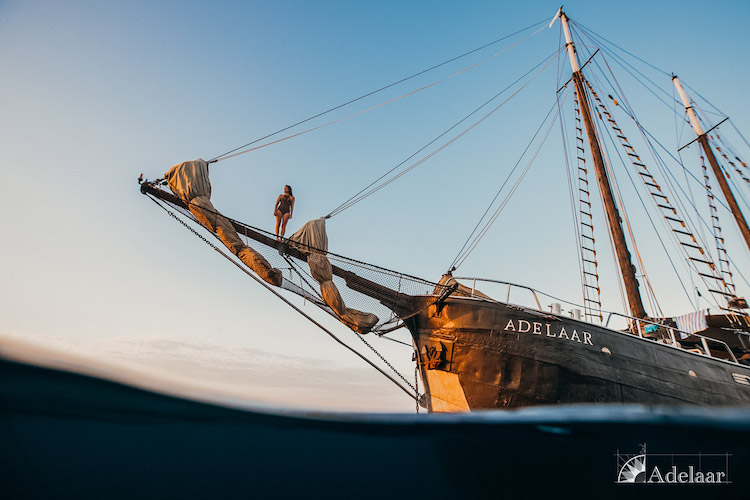 Adelaar's 12-Day Alor & The Forgotten Island: Maumere to Saumlaki - Day Eleven - Boat Side View