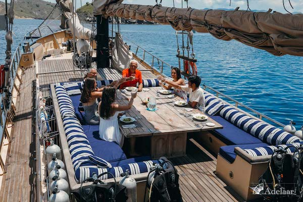 Adelaar's 12-Day Banda Sea: Ambon to Saumlaki - Day Nine - Breakfast On Board