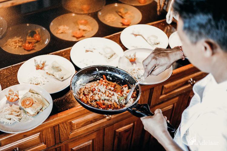 Adelaar's 12-Day Banda Sea: Saumlaki to Ambon - Day One - Chef preparing meals