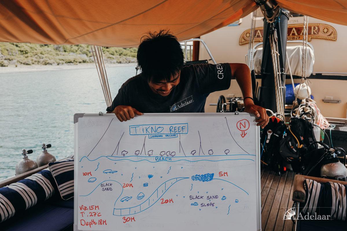 Adelaar's 12-Day Banda Sea: Saumlaki to Ambon - Day Five - Dive Briefing