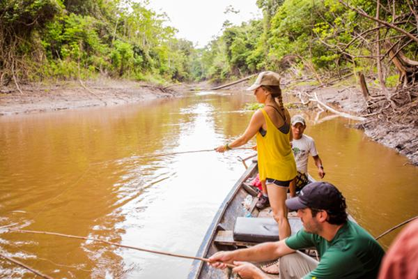 Treehouse Lodge's 4-Day Itinerary Day Two - Piranha Fishing.
