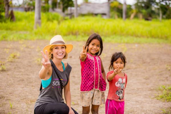 Treehouse Lodge's 4-Day Itinerary Day Three - Amazon Community Visit.