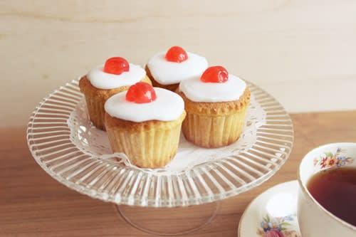 カップケーキ ドレンチェリー