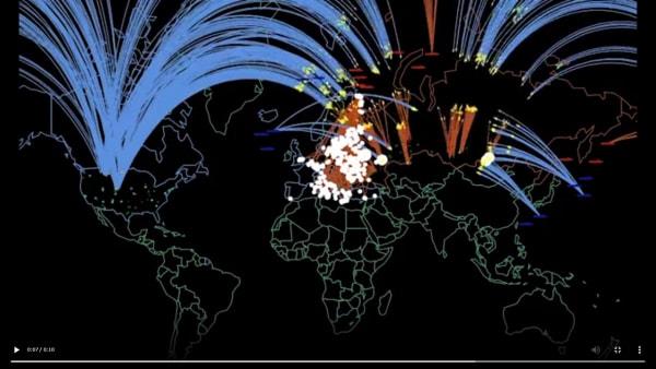 米国/ NATOとロシア間の核戦争 シミュレーション