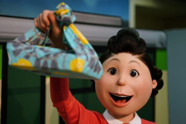 サザエさん サザエ リアルな等身大模型 リアルな人形