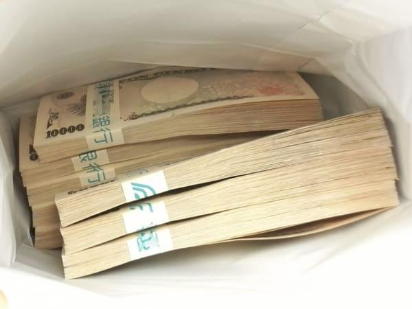札束、1000万円