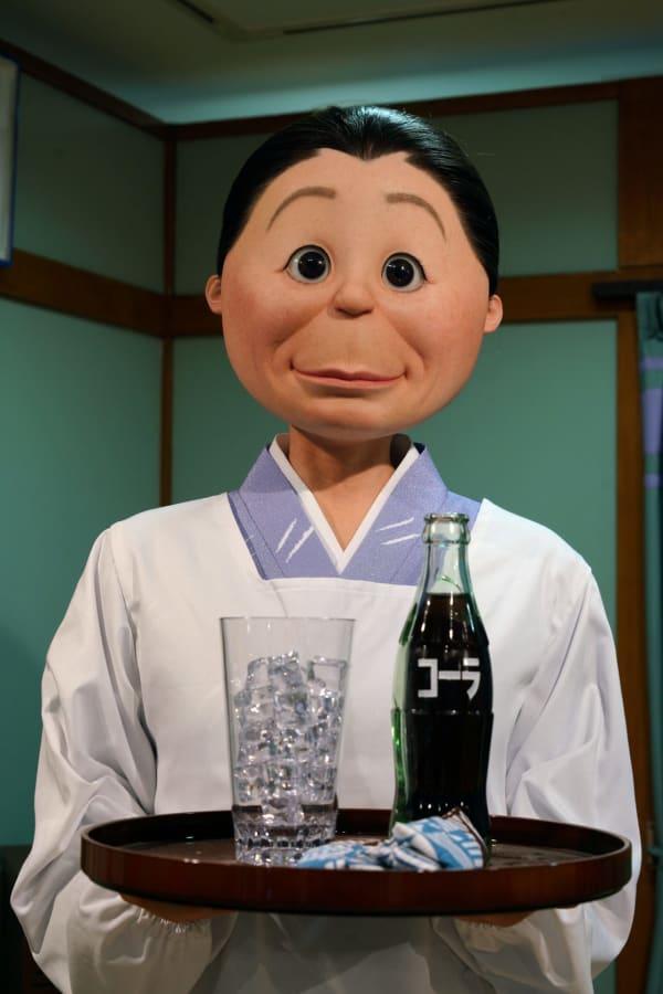 磯野フネ リアルな等身大模型 リアルな人形