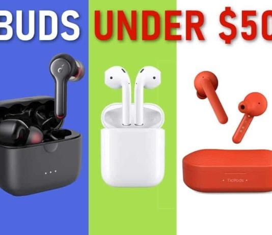 10 Wireless Earbuds under $50