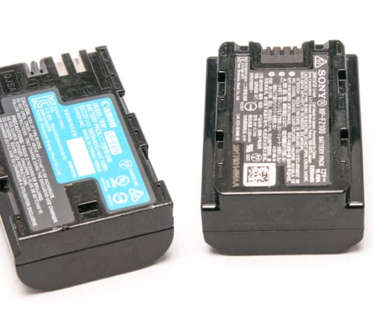 Battery Packs for Camera