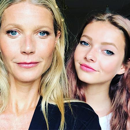 Гвинет Пэлтроу скандалит с дочкой в Instagram