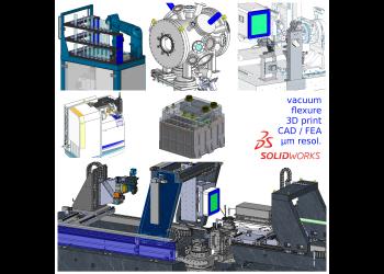 Prestation d'ingénierie en mécanique et opto-mécanique