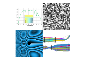 Calcul, simulation et conception optique