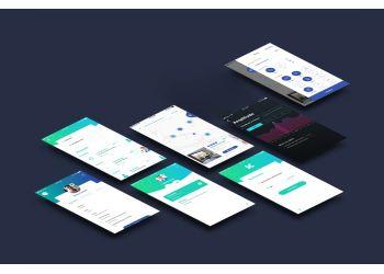 Étude technique et graphique pour les applications mobile et plateformes web