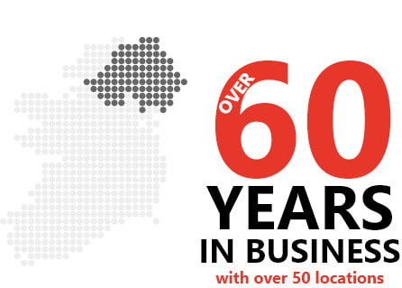 60 years in business with over 50 locations
