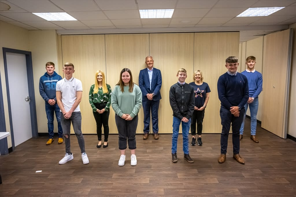 Welcome To Our New Apprentices