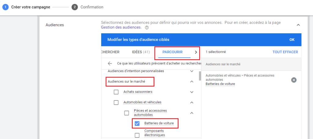 ciblage par type d'audience, Google Ads Display : Le ciblage par type d'audience, Michel YEBOUA