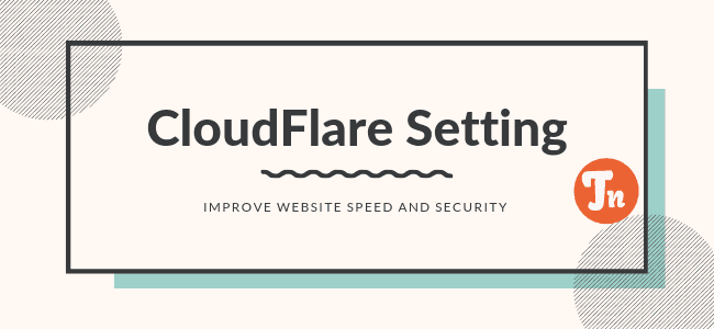 CloudFlare Setting