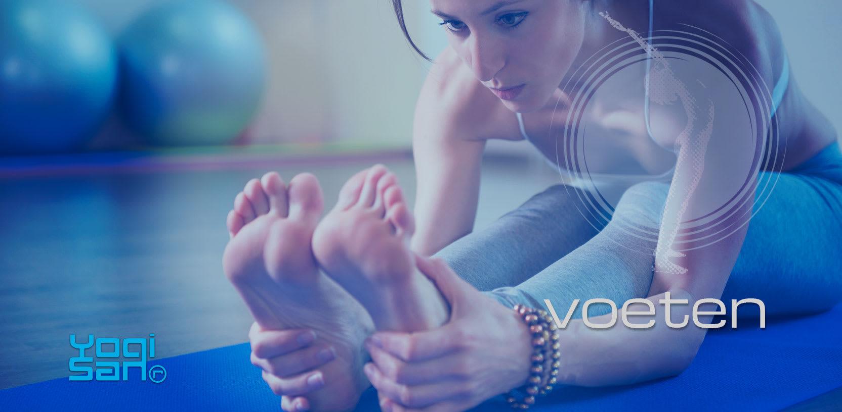 yoga en onze voeten