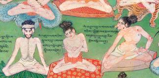 lukhang tempel lhasa schilderingen
