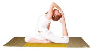 Yogamat van ayurvastram of ayurvastra