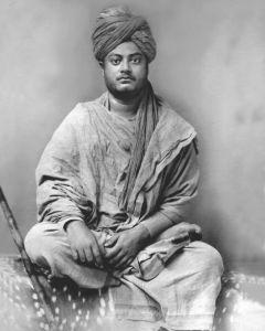 Swami Vivekananda in Jaipur (Yoga komt uit Denemarken)