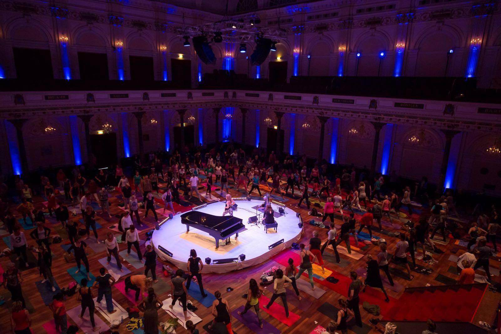 Yoga in Concert