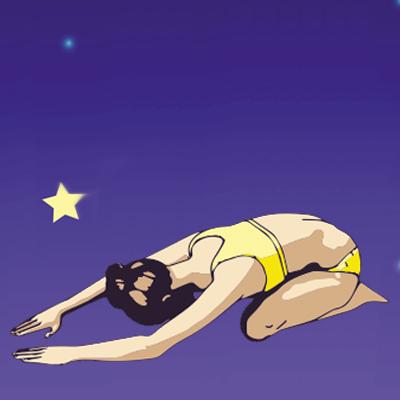 slapeloosheid - Beter slapen - yoga oefeningen childs pose