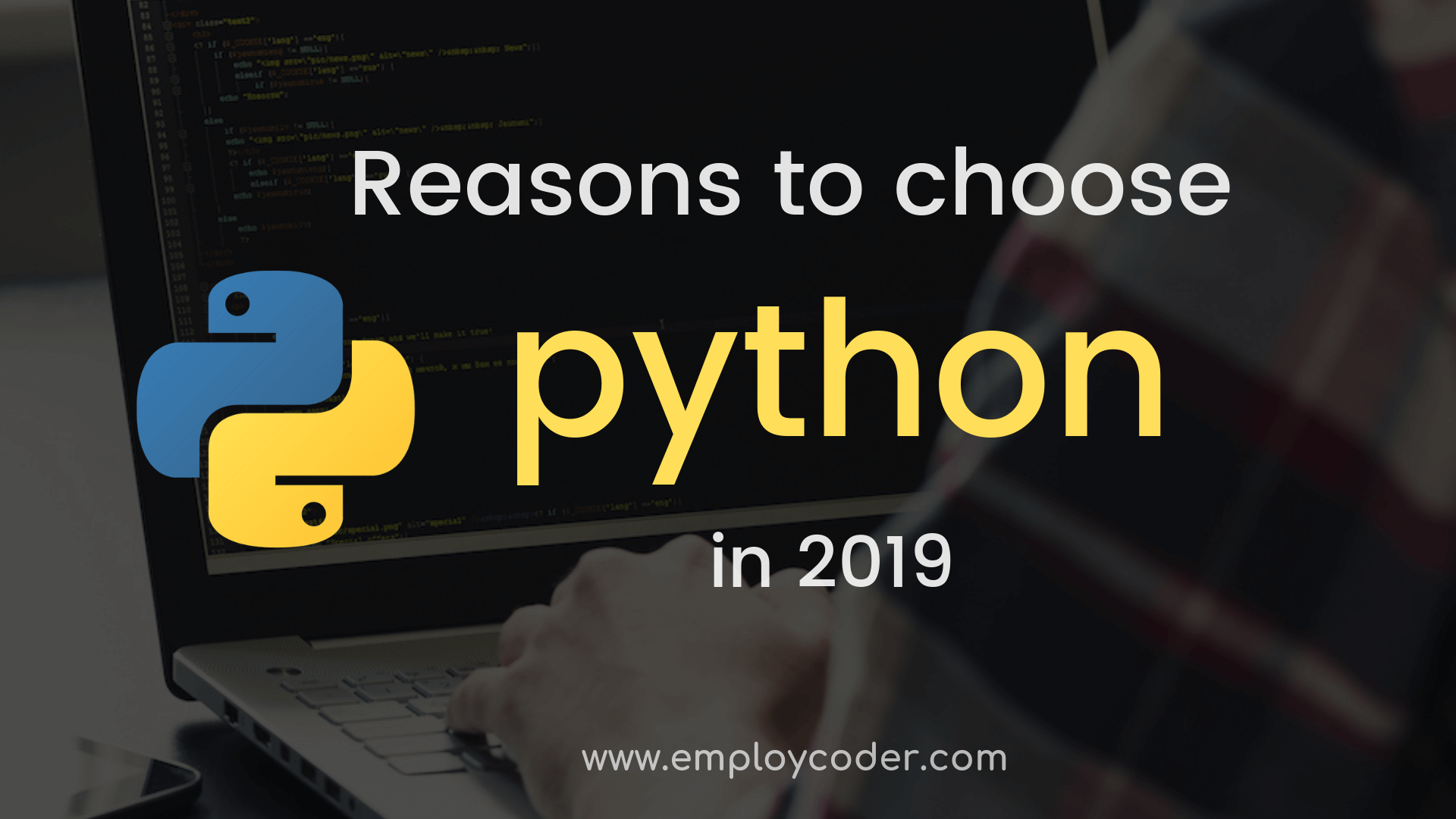 Reasons to Choose Python in 2019