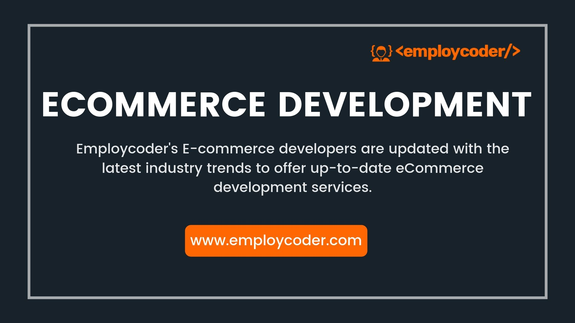 Ecommerce Website Development Company India | Ecommerce