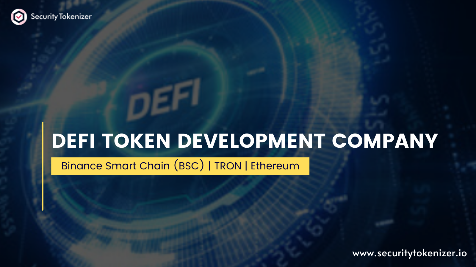 DeFi Token Development Company