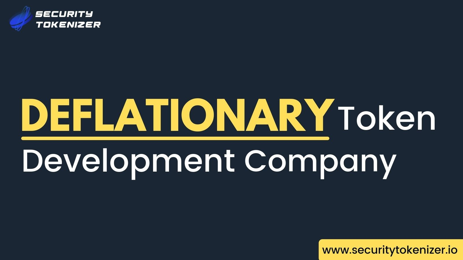Deflationary Token Development Company