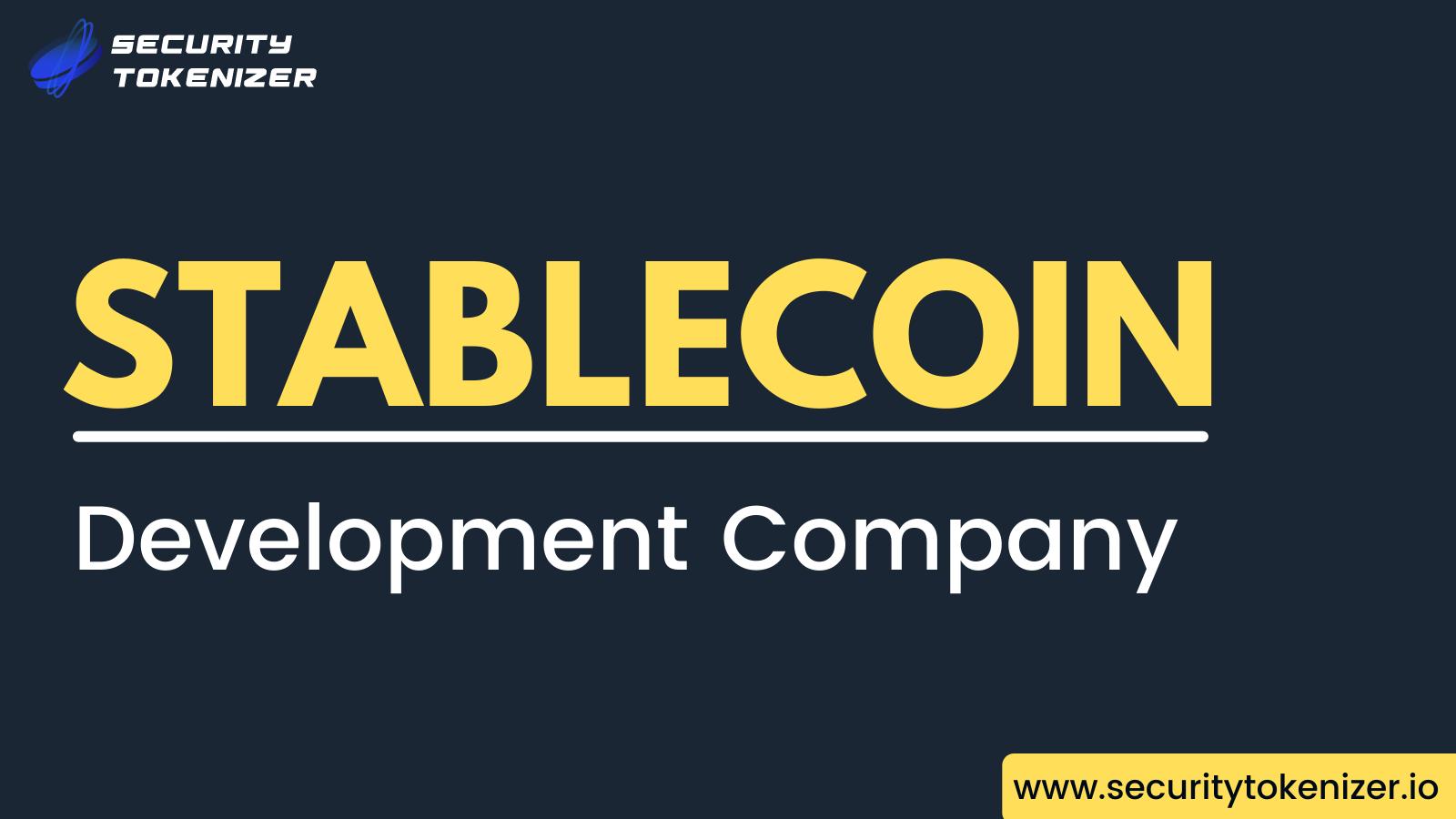 Stablecoin Development Company - Security Tokenizer