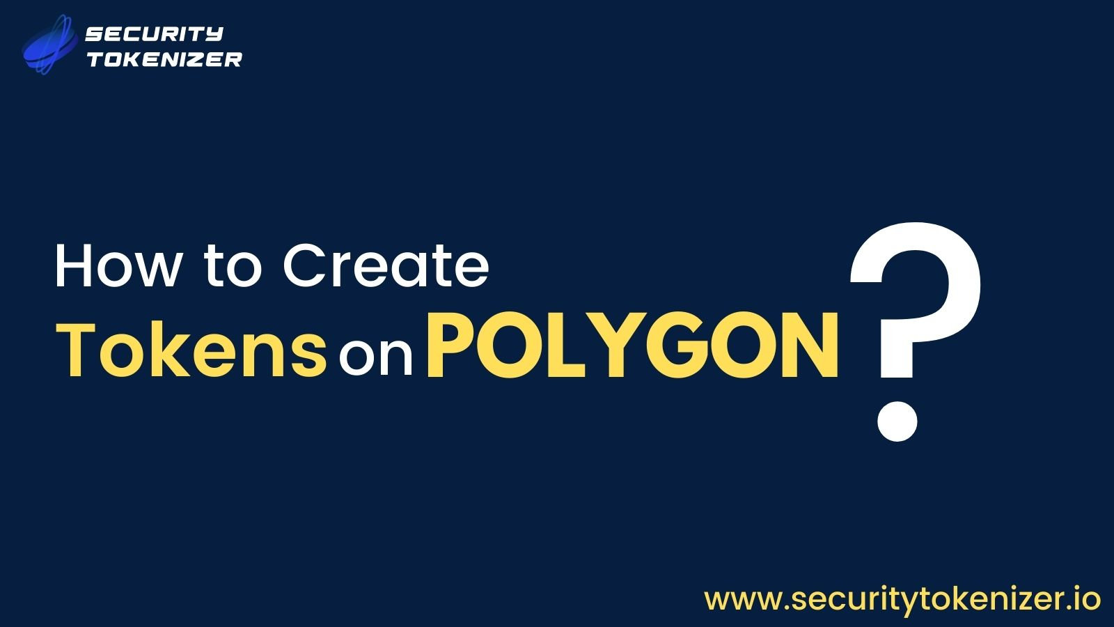 How To Create Your Own Token On Polygon Network (Matic)?