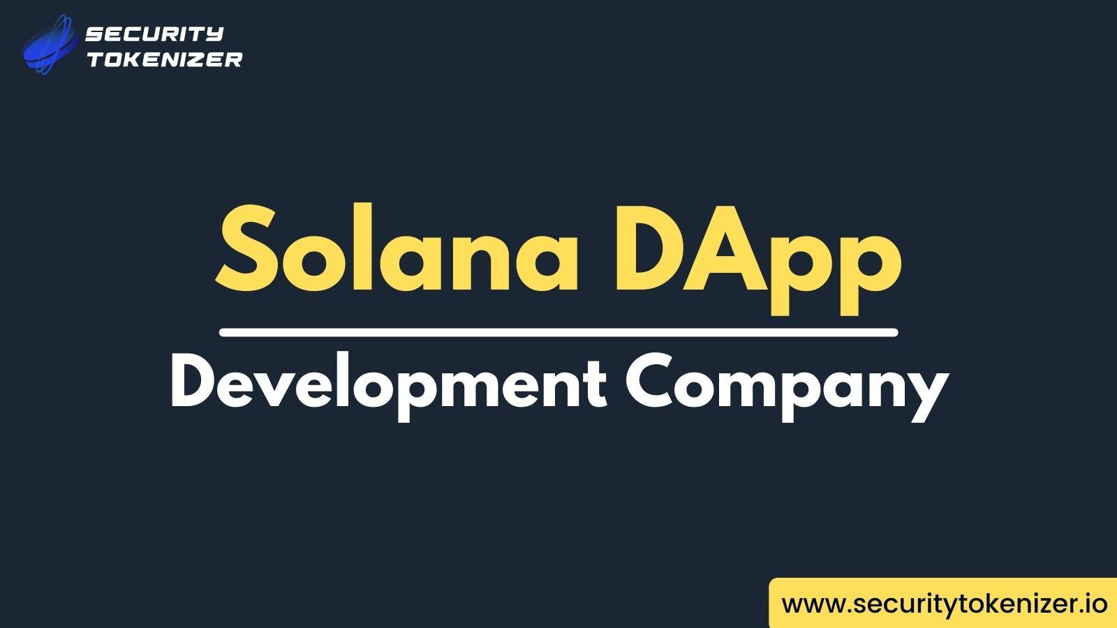 Solana Dapp Development to Create Dapps On Solana Blockchain