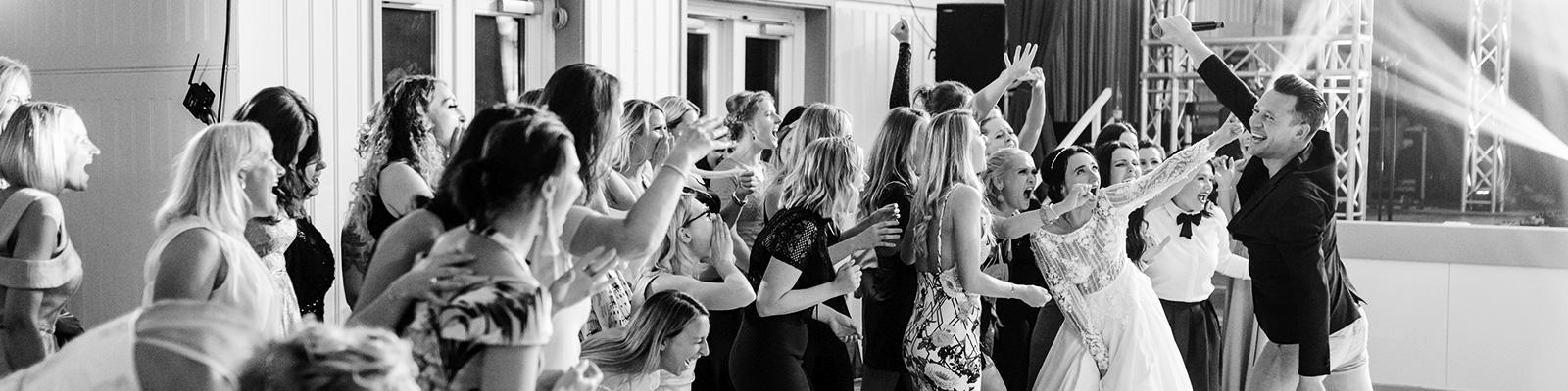 Hochzeitsmoderator-party
