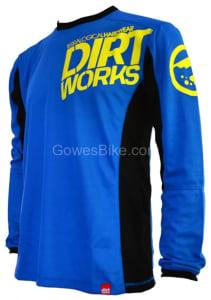 Jersey Sepeda Dirtworks Minion Biru Hitam Jual Baju