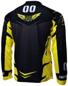 Jersey Sepeda Dirtworks Skywalker Kuning - Jual Baju