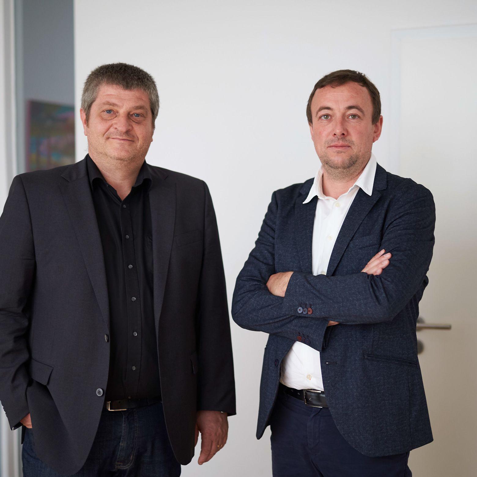 Hans Kazzer und Martin Aichner