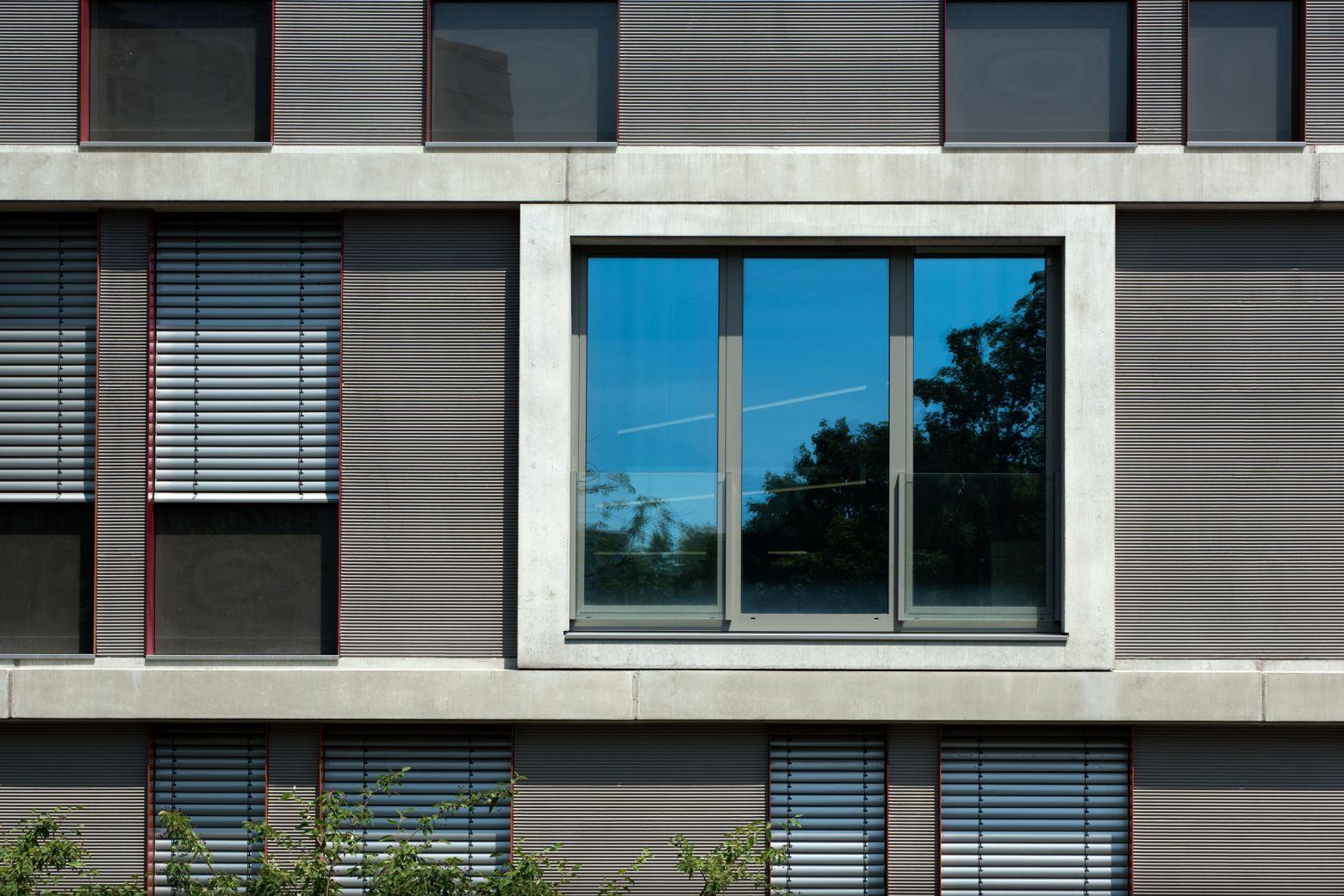 Fassadenteilansicht