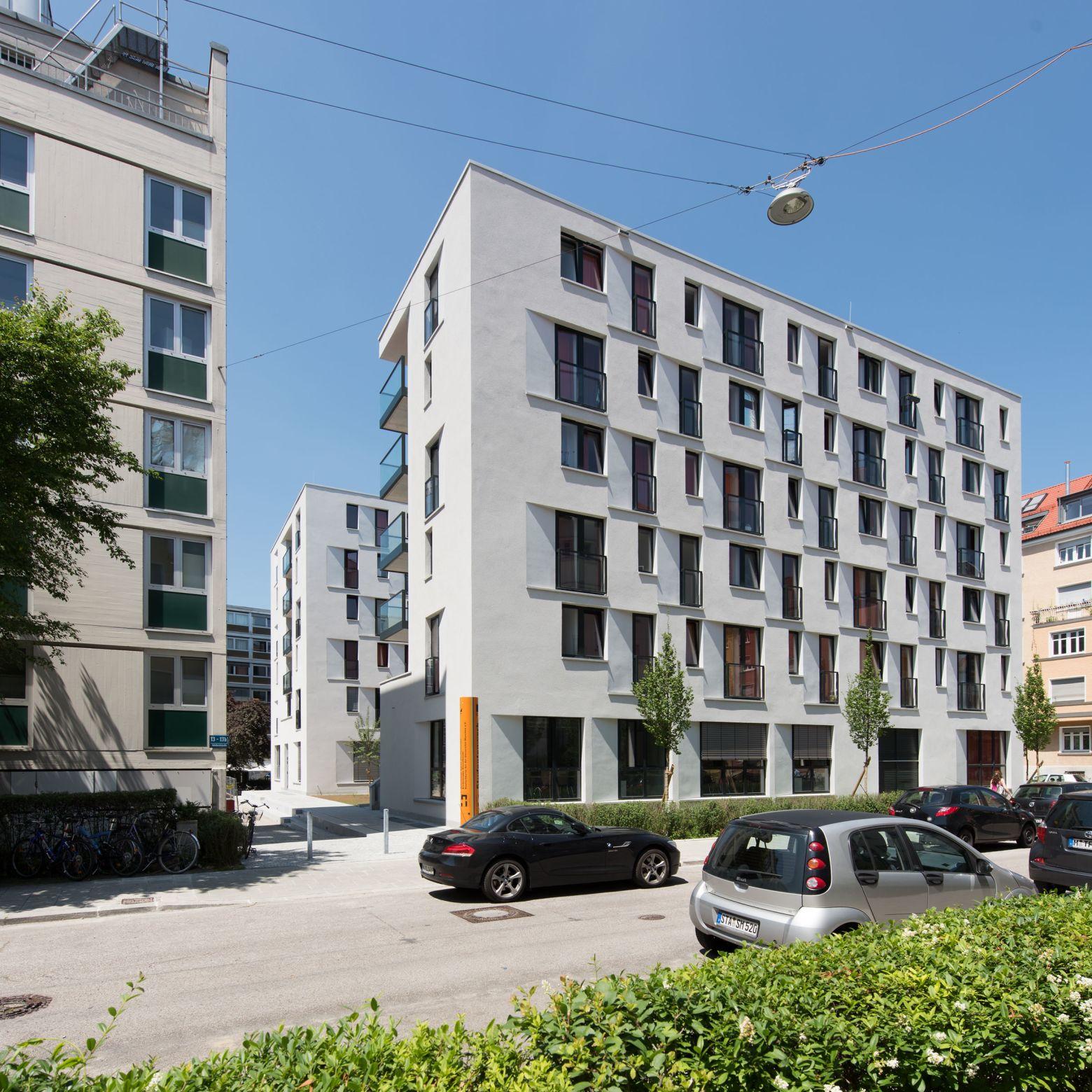 Blick von der Adelheidstraße