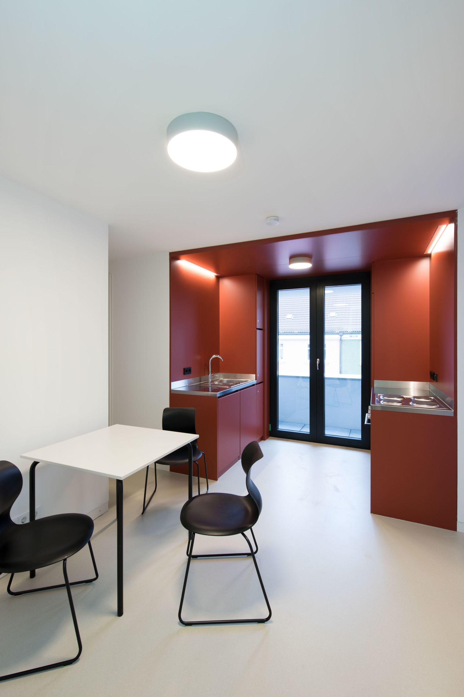 Küche 3er WG