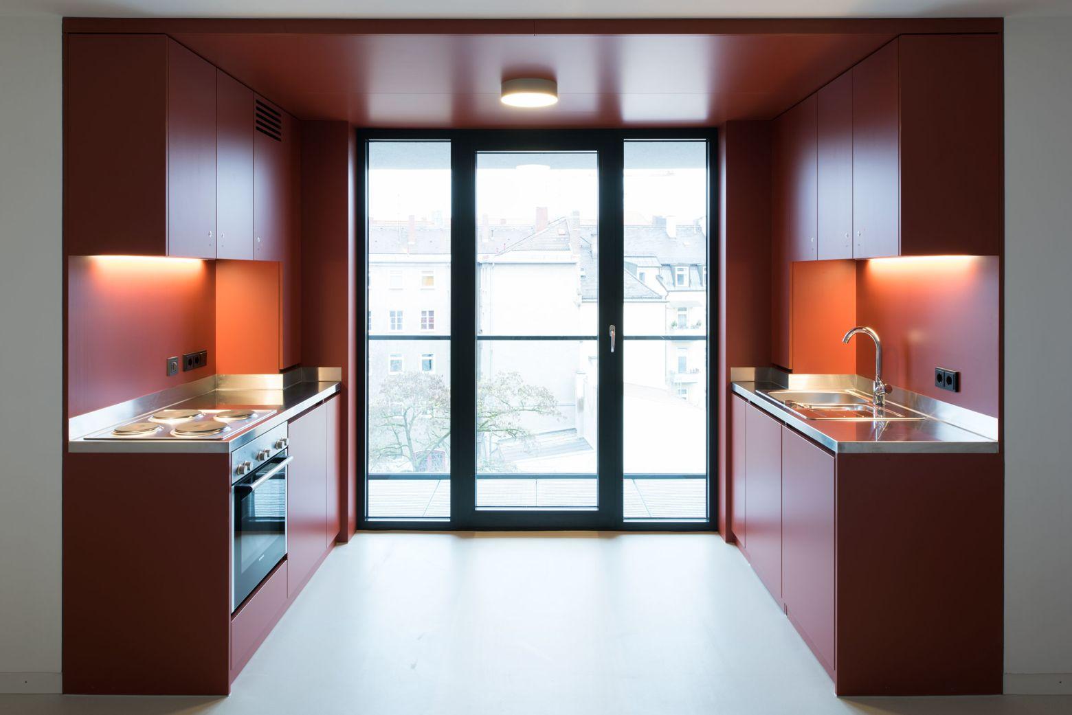 Küche 6er WG