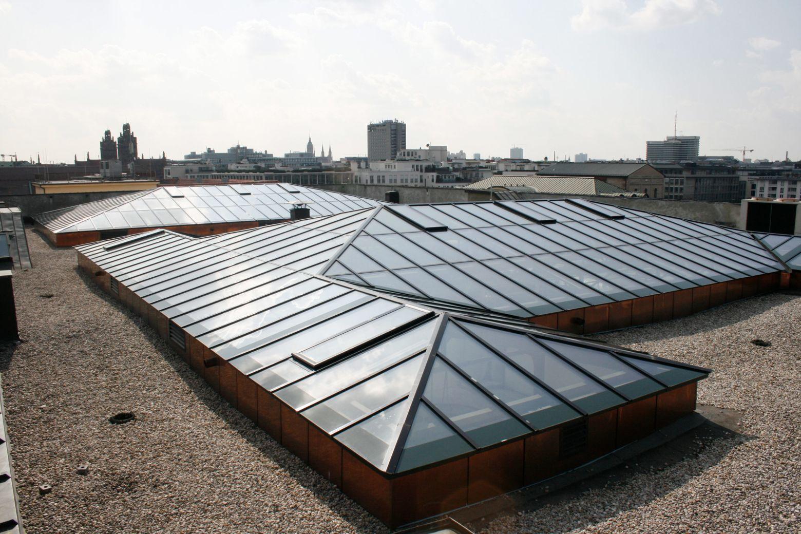 Dach Süd und Mitte