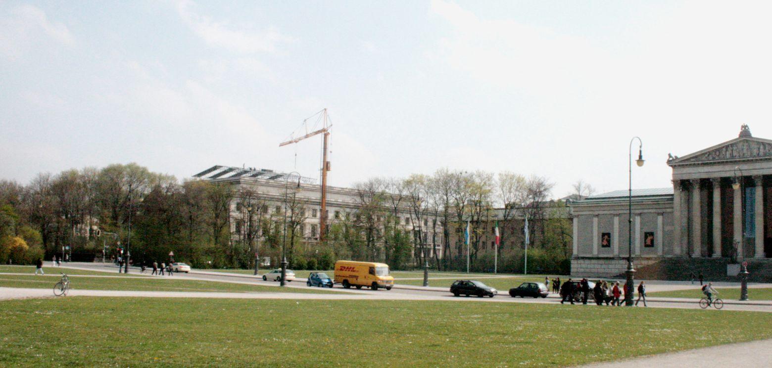 Ansicht Königsplatz