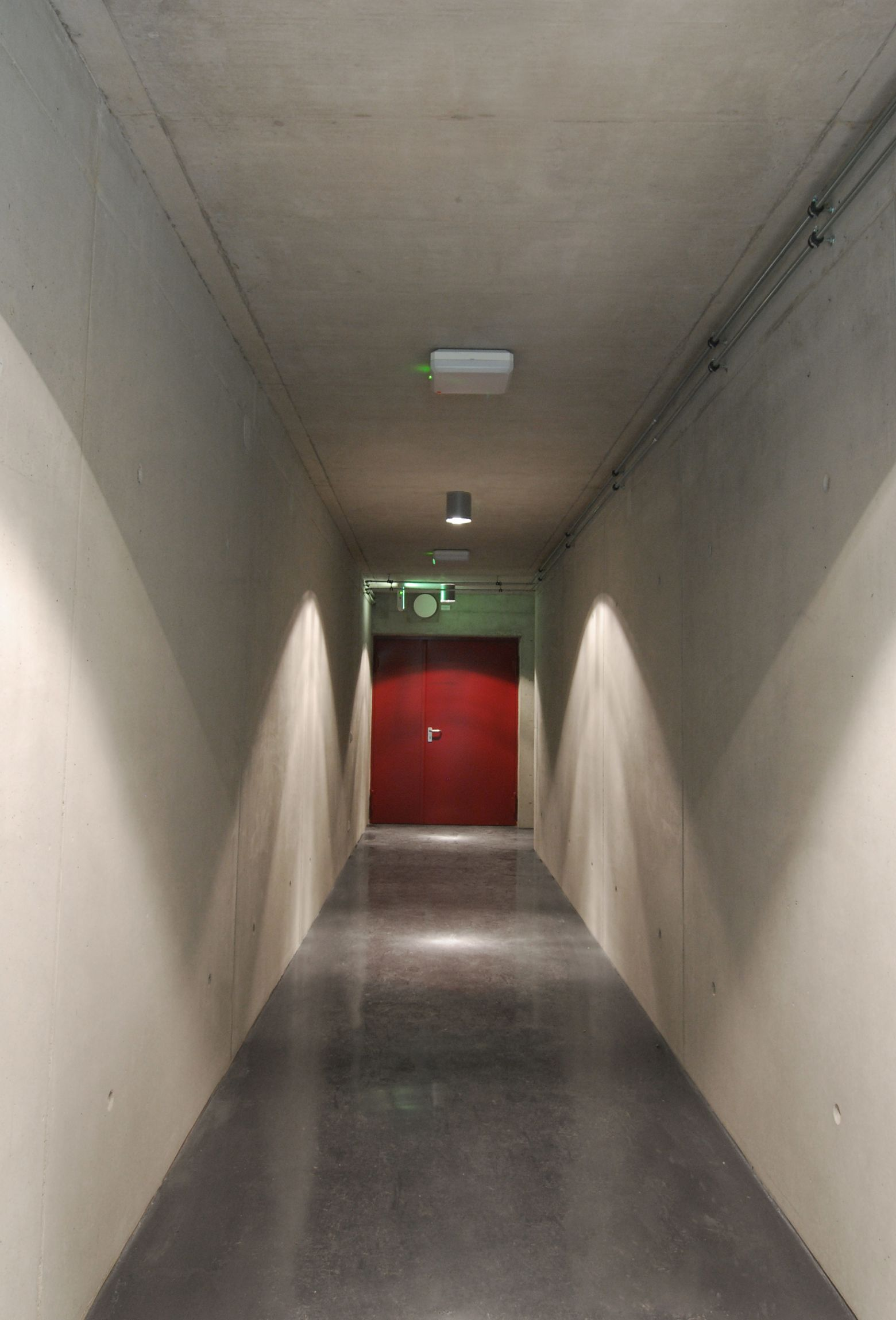 Zugang Untergrundlabor