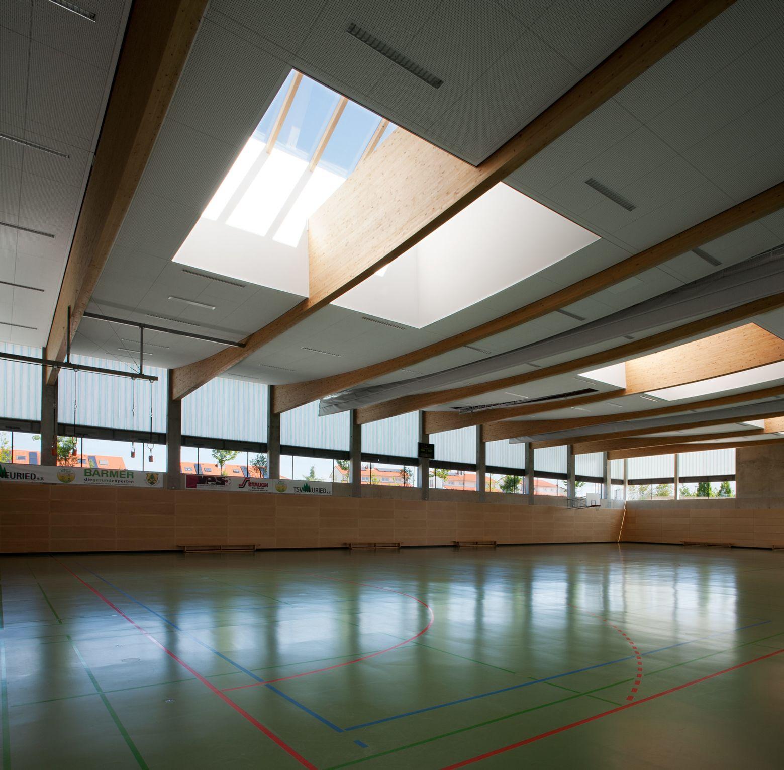 Innenraum Halle