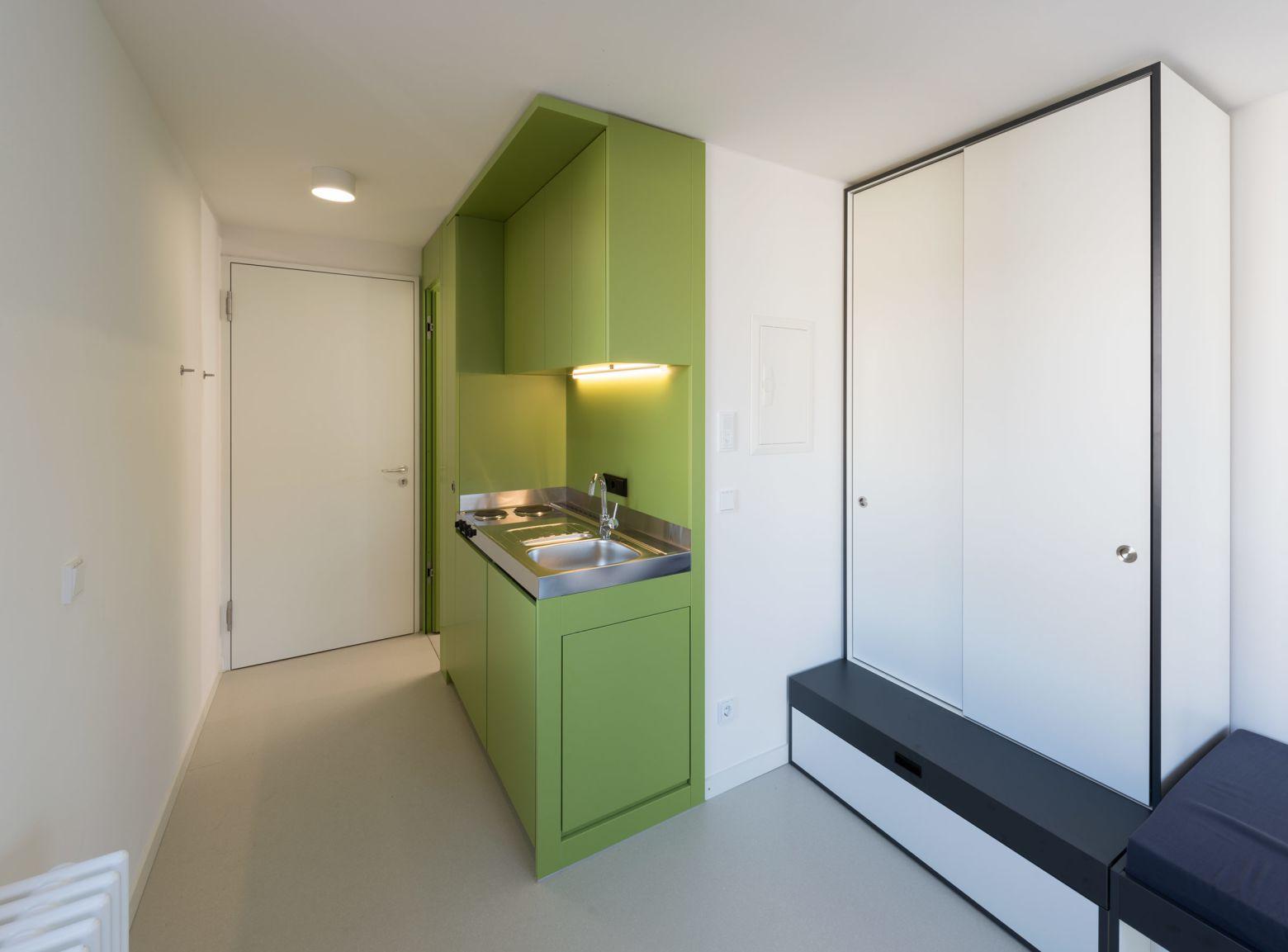 Küche Einzelzimmer